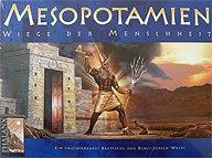 Brettspiele bei AEIOU.DE - Abbildung: Frontcover der Spielbox von Mesopotamien