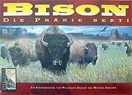 Brettspiele bei AEIOU.DE - Abbildung: Frontcover der Spielbox von Bison