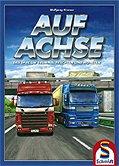 Brettspiele bei AEIOU.DE - Abbildung: Frontcover der Spielbox von Auf Achse
