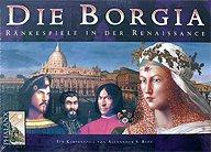 Brettspiele bei AEIOU.DE - Abbildung: Frontcover der Spielbox von Die Borgia