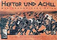 Brettspiele bei AEIOU.DE - Abbildung: Frontcover der Spielbox von Hektor und Achill