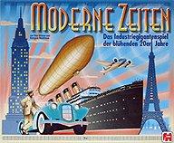 Brettspiele bei AEIOU.DE - Abbildung: Frontcover der Spielbox von Moderne Zeiten