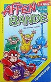 Rezensionen bei AEIOU.DE - Abbildung: Frontcover der Spielbox von Affenbande