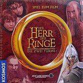 Brettspiele bei AEIOU.DE - Abbildung: Frontcover der Spielbox von Der Herr der Ringe - Die zwei Türme
