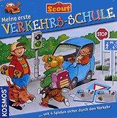 Brettspiele bei AEIOU.DE - Abbildung: Frontcover der Spielbox von Meine erste Verkehrsschule