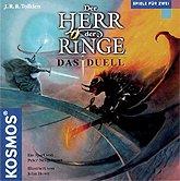 Brettspiele bei AEIOU.DE - Abbildung: Frontcover der Spielbox von Der Herr der Ringe - Das Duell