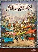 Brettspiele bei AEIOU.DE - Abbildung: Frontcover der Spielbox von Der Markt von Alturien