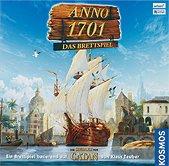 Brettspiele bei AEIOU.DE - Abbildung: Frontcover der Spielbox von Anno 1701 - Das Brettspiel