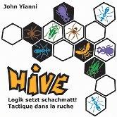 Brettspiele bei AEIOU.DE - Abbildung: Frontcover der Spielbox von Hive