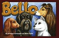 Brettspiele bei AEIOU.DE - Abbildung: Frontcover der Spielbox von Bello