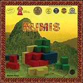 Brettspiele bei AEIOU.DE - Abbildung: Frontcover der Spielbox von Rumis