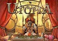 Brettspiele bei AEIOU.DE - Abbildung: Frontcover der Spielbox von Utopia