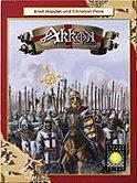 Brettspiele bei AEIOU.DE - Abbildung: Frontcover der Spielbox von Akkon
