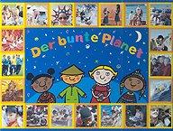Brettspiele bei AEIOU.DE - Abbildung: Frontcover der Spielbox von Der bunte Planet