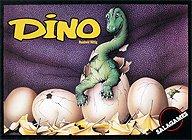 Brettspiele bei AEIOU.DE - Abbildung: Frontcover der Spielbox von Dino