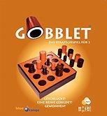 Brettspiele bei AEIOU.DE - Abbildung: Frontcover der Spielbox von Gobblet