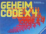 Brettspiele bei AEIOU.DE - Abbildung: Frontcover der Spielbox von Geheim Code X 4