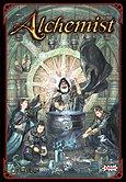Brettspiele bei AEIOU.DE - Abbildung: Frontcover der Spielbox von Alchemist