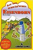Brettspiele bei AEIOU.DE - Abbildung: Frontcover der Spielbox von Auf der Schwäb'schen Eisenbohn