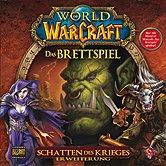Brettspiele bei AEIOU.DE - Abbildung: Frontcover der Spielbox von World of Warcraft - Schatten des Krieges