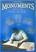 Brettspiele bei AEIOU.DE - Abbildung: Frontcover der Spielbox von Monuments