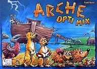 Brettspiele bei AEIOU.DE - Abbildung: Frontcover der Spielbox von Arche Opti Mix