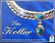 Brettspiele bei AEIOU.DE - Abbildung: Frontcover der Spielbox von Das Kollier