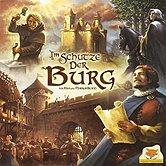 Brettspiele bei AEIOU.DE - Abbildung: Frontcover der Spielbox von Im Schutze der Burg
