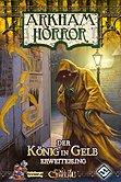 Brettspiele bei AEIOU.DE - Abbildung: Frontcover der Spielbox von Arkham Horror - Der König in Gelb