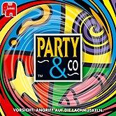 Brettspiele bei AEIOU.DE - Abbildung: Frontcover der Spielbox von Party & Co.