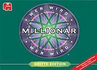 Brettspiele bei AEIOU.DE - Abbildung: Frontcover der Spielbox von Wer wird Millionär