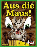 Brettspiele bei AEIOU.DE - Abbildung: Frontcover der Spielbox von Aus die Maus!