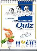 Brettspiele bei AEIOU.DE - Abbildung: Frontcover der Spielbox von Das kleine Feinschmecker-Quiz
