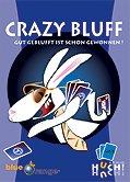 Brettspiele bei AEIOU.DE - Abbildung: Frontcover der Spielbox von Crazy Bluff