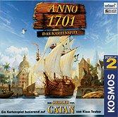 Brettspiele bei AEIOU.DE - Abbildung: Frontcover der Spielbox von Anno 1701 - Das Kartenspiel