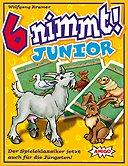 Rezensionen bei AEIOU.DE - Abbildung: Frontcover der Spielbox von 6 nimmt! - Junior
