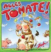 Brettspiele bei AEIOU.DE - Abbildung: Frontcover der Spielbox von Alles Tomate!