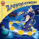 Brettspiele bei AEIOU.DE - Abbildung: Frontcover der Spielbox von Zauberlehrling
