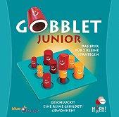 Brettspiele bei AEIOU.DE - Abbildung: Frontcover der Spielbox von Gobblet Junior