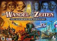 Brettspiele bei AEIOU.DE - Abbildung: Frontcover der Spielbox von Im Wandel der Zeiten