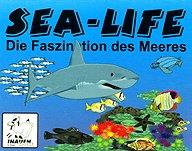 Brettspiele bei AEIOU.DE - Abbildung: Frontcover der Spielbox von Sea-Life