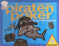Brettspiele bei AEIOU.DE - Abbildung: Frontcover der Spielbox von Piratenpoker