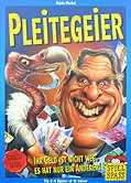 Brettspiele bei AEIOU.DE - Abbildung: Frontcover der Spielbox von Pleitegeier