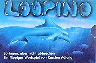 Brettspiele bei AEIOU.DE - Abbildung: Frontcover der Spielbox von Loopino