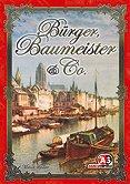 Rezensionen bei AEIOU.DE - Abbildung: Frontcover der Spielbox von Bürger, Baumeister & Co.
