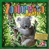 Brettspiele bei AEIOU.DE - Abbildung: Frontcover der Spielbox von Zooloretto exotic