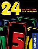 Brettspiele bei AEIOU.DE - Abbildung: Frontcover der Spielbox von 24