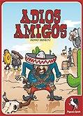 Rezensionen bei AEIOU.DE - Abbildung: Frontcover der Spielbox von Adios Amigos