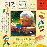 Brettspiele bei AEIOU.DE - Abbildung: Frontcover der Spielbox von 21 Zirkusferkel