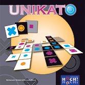 Brettspiele bei AEIOU.DE - Abbildung: Frontcover der Spielbox von Unikato
